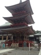 3-story Pagoda of beauty.  Narita, Japan (Narita-San Temple)