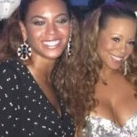 For the life of me I can't recall what year this was from. I saved this photo because I love Mariah and Beyonce. If my recollection is correct I read this was taken one New Years Eve while Jay and Bey were in St. Barth's.